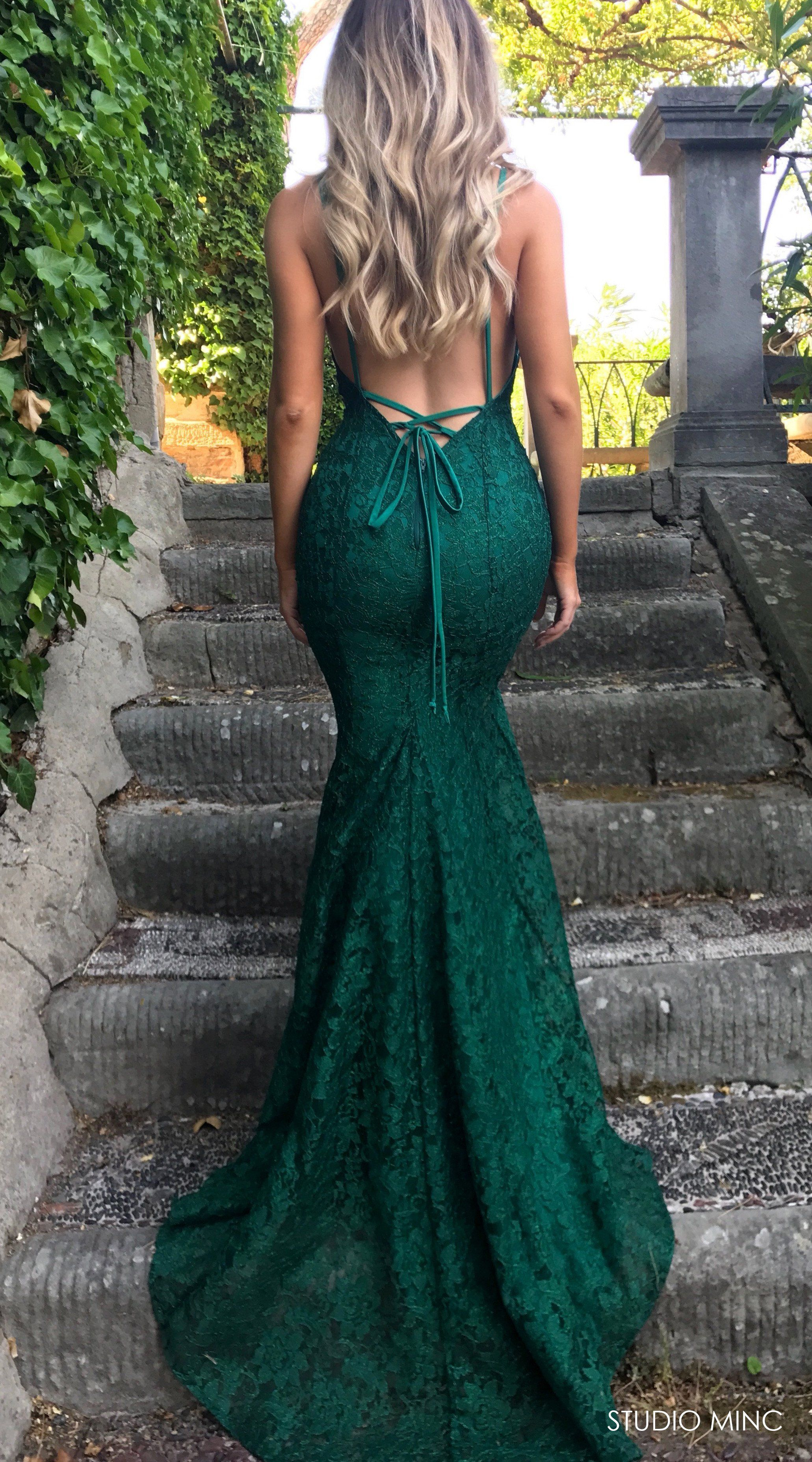 Emerald green prom dress  Emerald mythical  Emeralds Prom and Formal