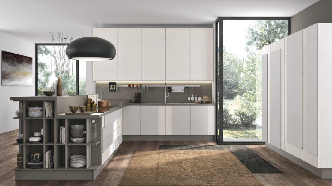30 cuisines grises et blanches déco et design | Cuisines grises ...