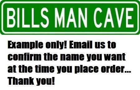 Personalized MAN MAVE sign by The Lizton Sign Shop. $10.95 ...