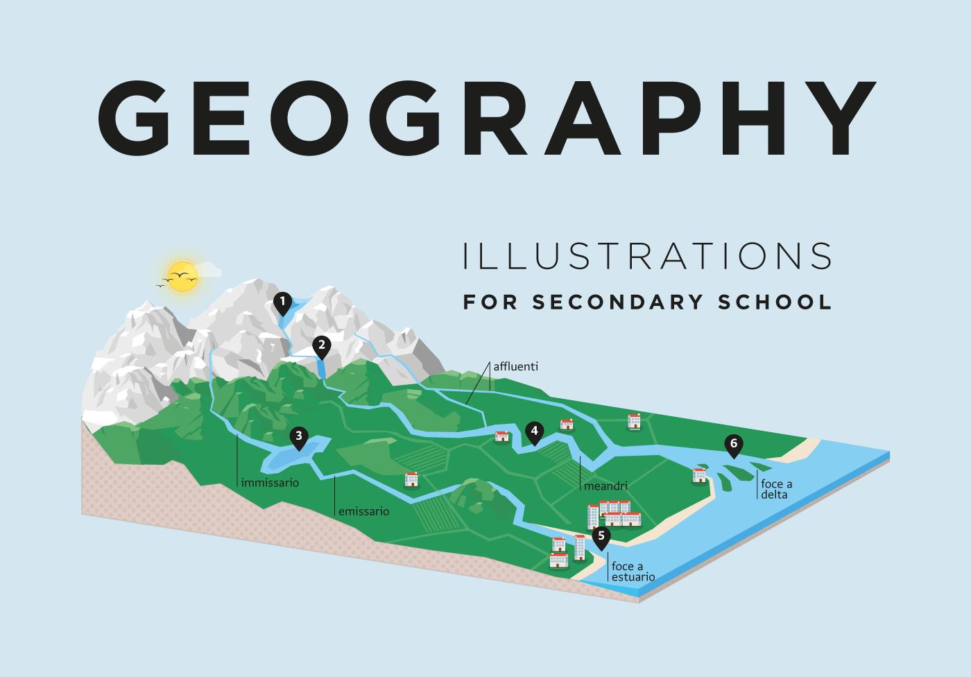 Geography - Loescher on Behance