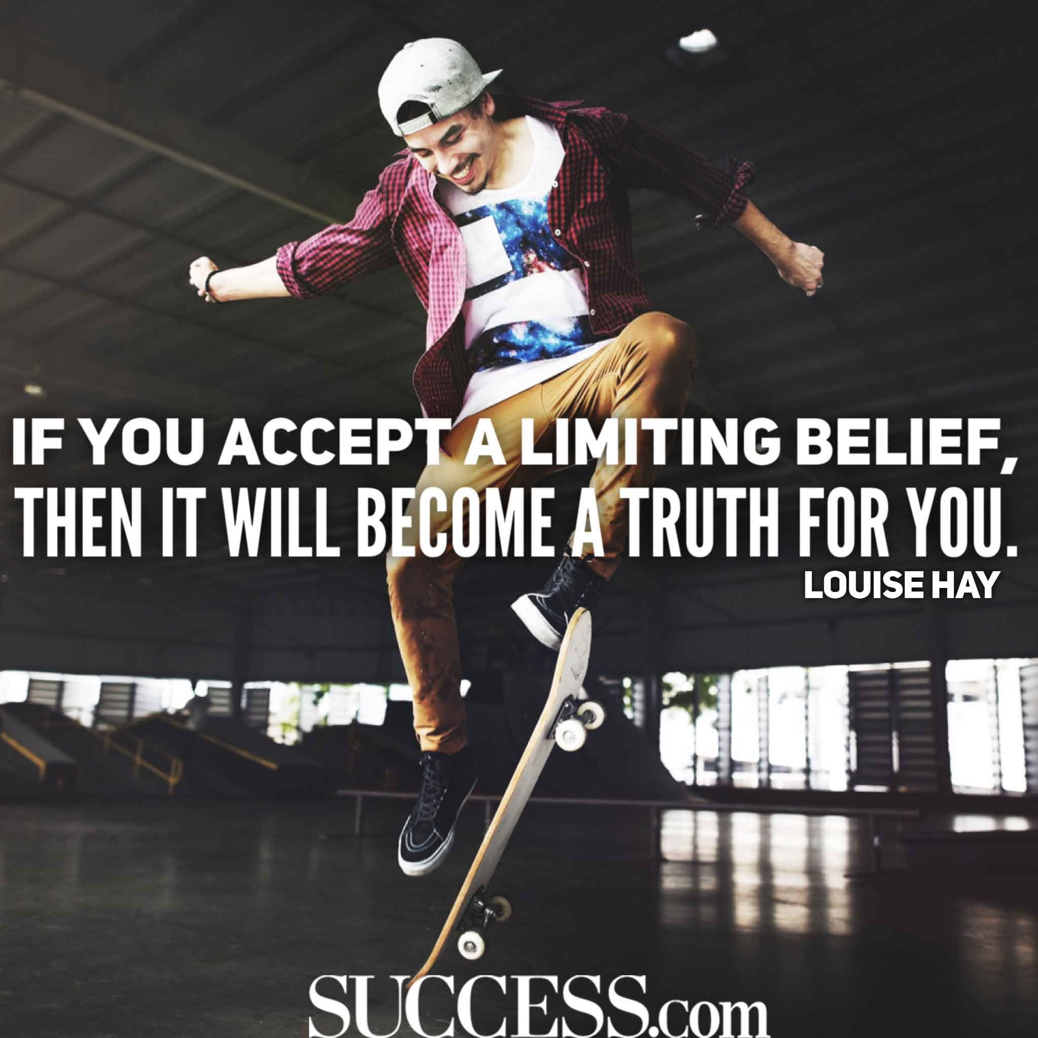 Limiting beliefs dating quotes