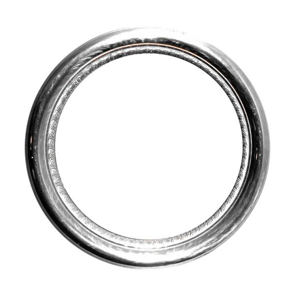 Mrd Rt Silver Round Frame Png Liked On Polyvore Clothes Design Outfit Accessories Silver