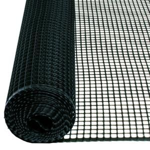 Tenax 3 Ft X 15 Ft Plastic Black Hardware Net 751397 The Home