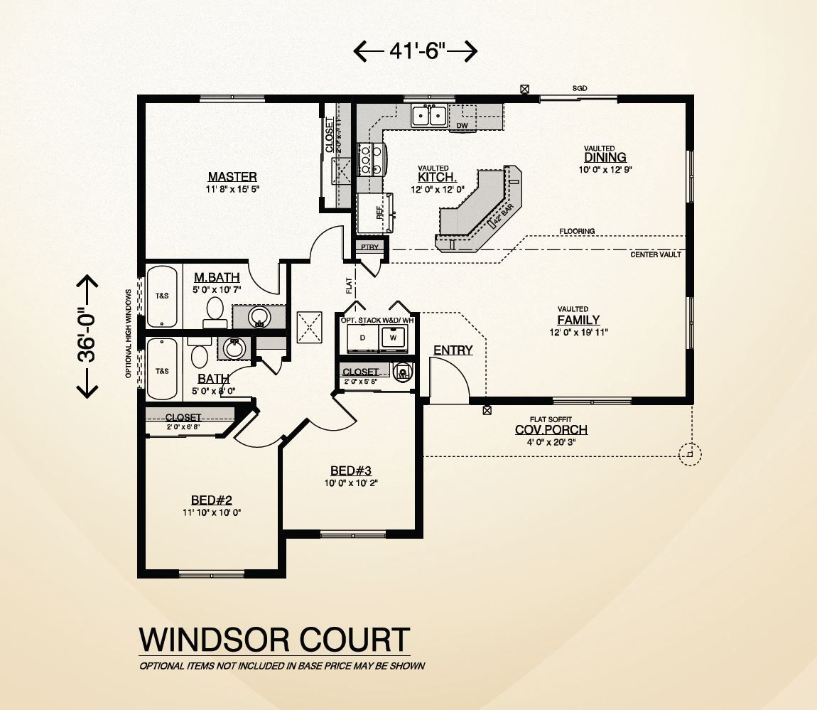 Windsor Court Home Plan Rambler Style Single Story Home Built On Your Lot Fully Customizable Floor Plan With Quality House Plans Windsor Court How To Plan