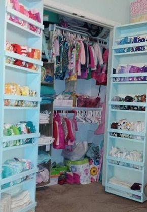 Nursery storage - cloth diaper storage & 92 nursery storage ideas to keep your cloth diapers organized ...