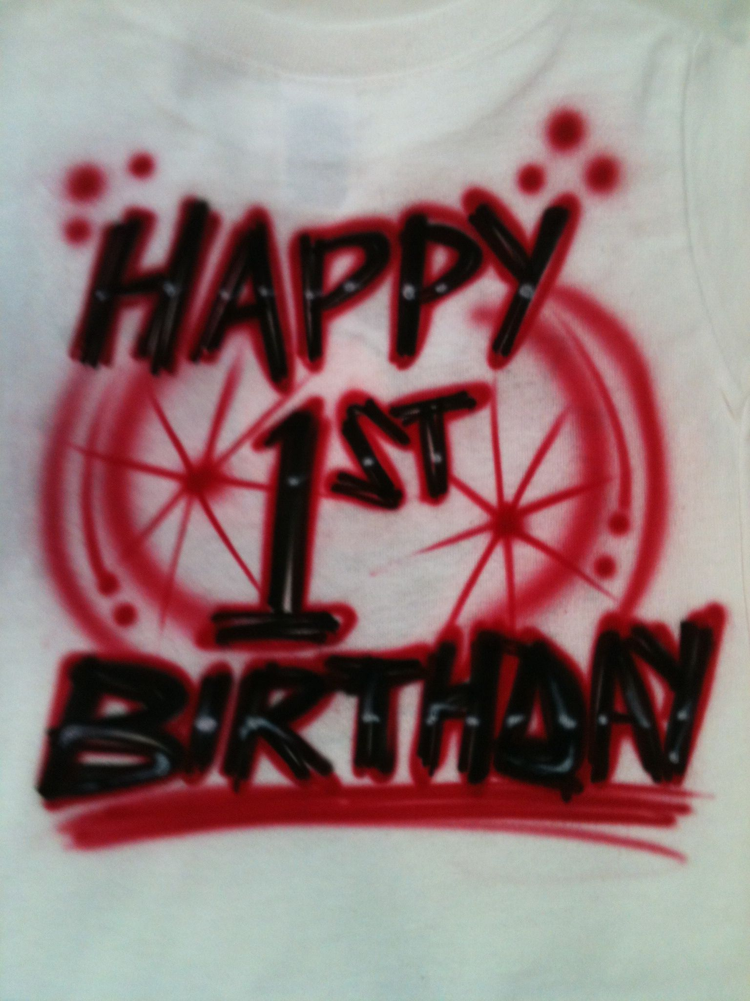 Hurry In Do You Need A Happy Birthday Airbrush Shirt Air Graphics 610 921 8300 We Are Located The Berkshire Mall Wyomissing PA