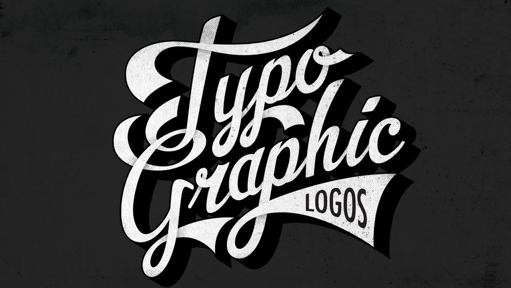 learn how to design typographic logos - T Shirt Logo Design Ideas