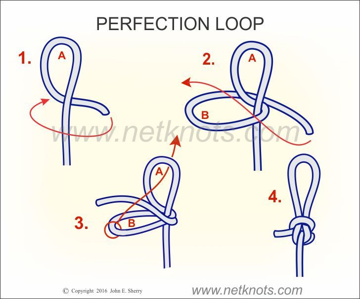 Perfection loop how to tie a perfection loop fishing for How to tie a knot in fishing line