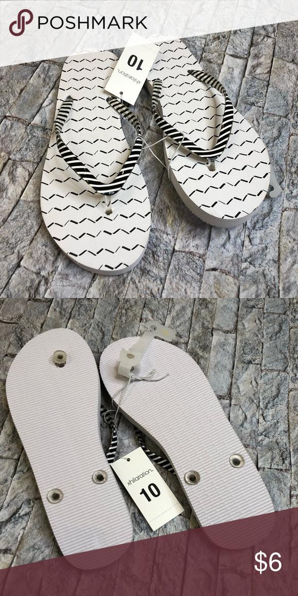 034d3a6190fa NWT XHILARATION Sandals Size 10 NWT Xhileration Flip Flop Sandals. Size 10  Xhilaration Shoes Sandals