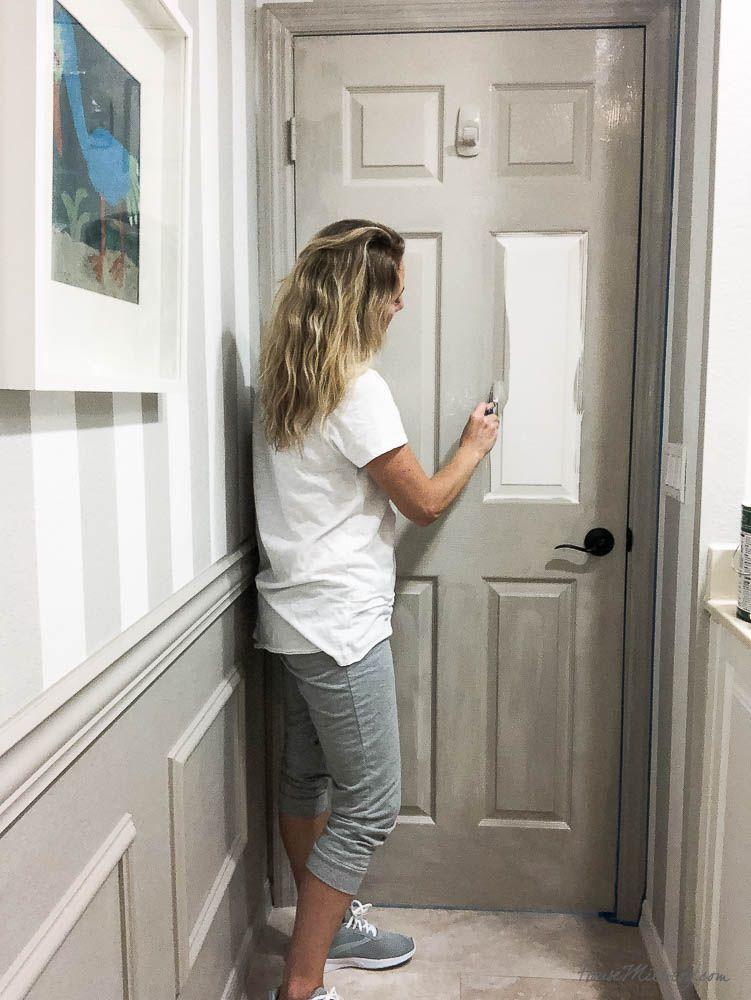 Boy's bathroom paint makeover Painting bathroom