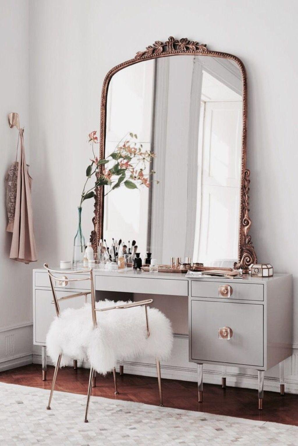 44 Stunning Bedroom Mirror Furniture Design Mirrored Furniture