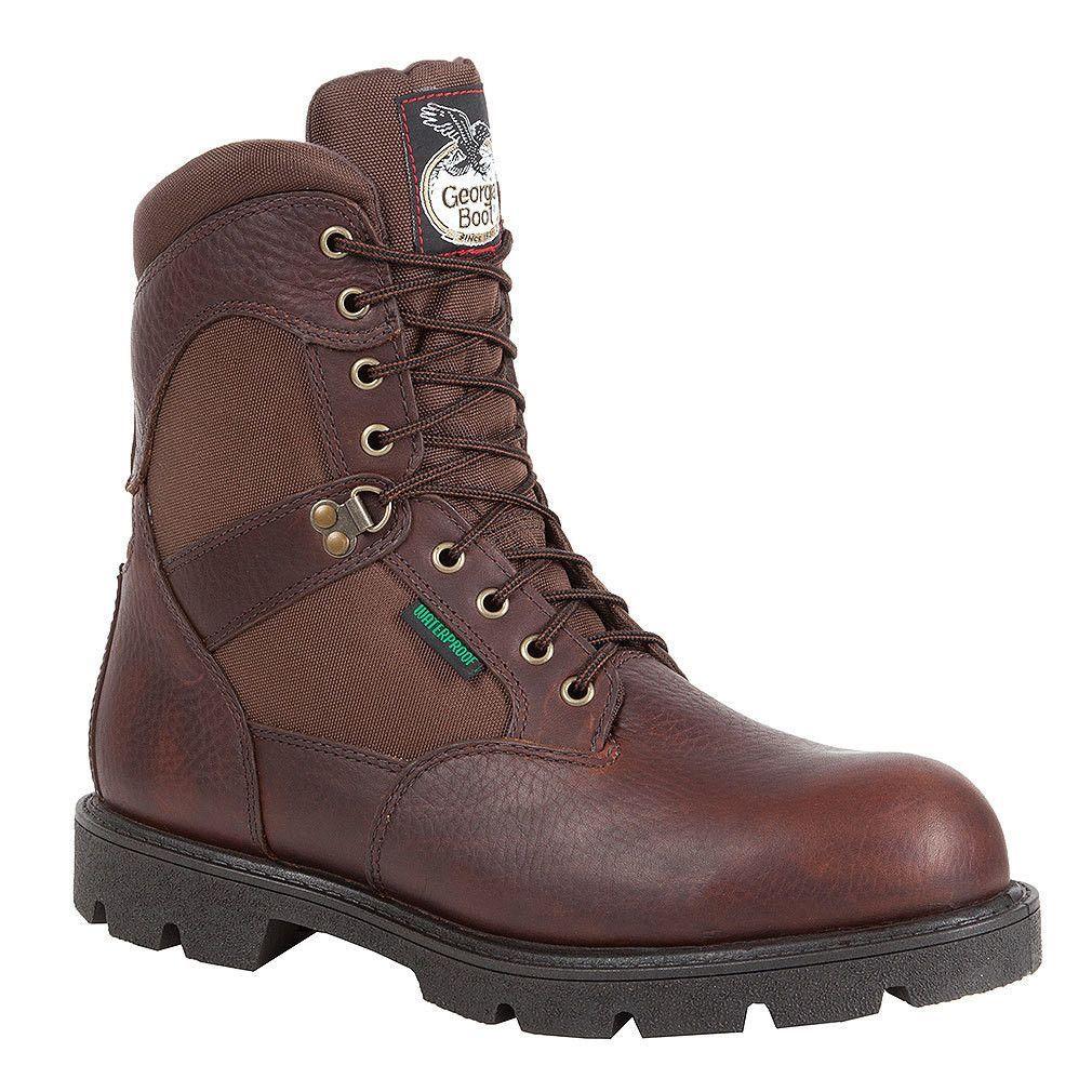 Homeland Steel Toe Waterproof Work Boots by Georgia