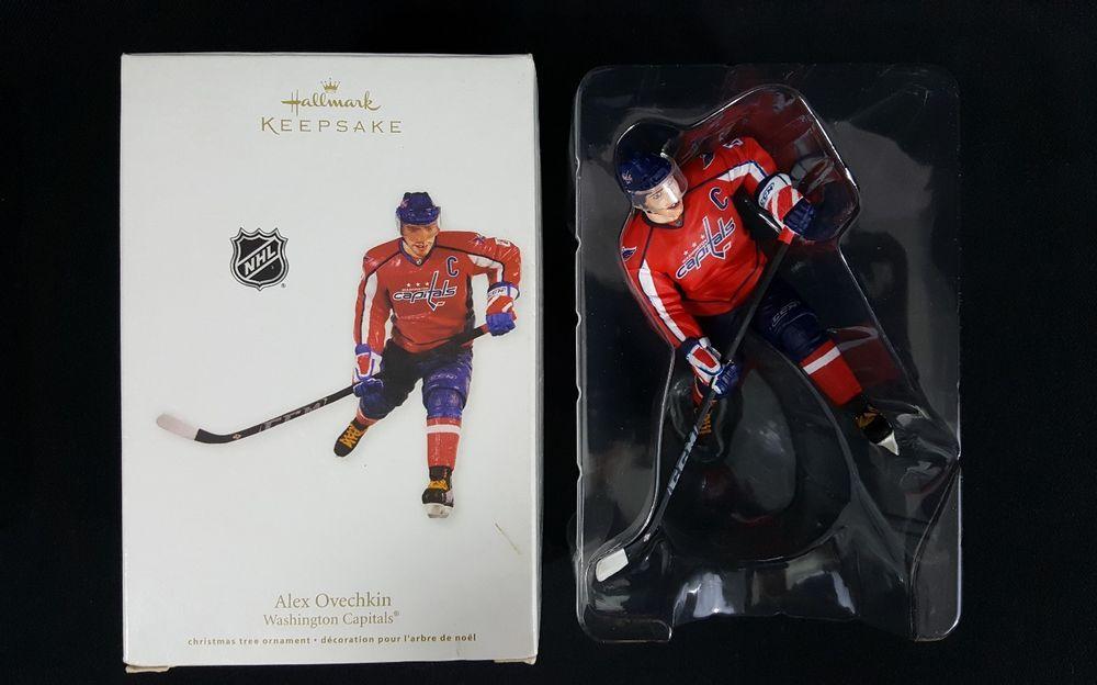 Hallmark Keepsake Ornament 2011 Alex Ovechkin Washington Capitals NHL  0cd06d2b0a73