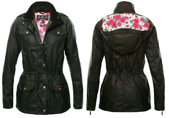 Barbour Rose Utility Waxed Jacket