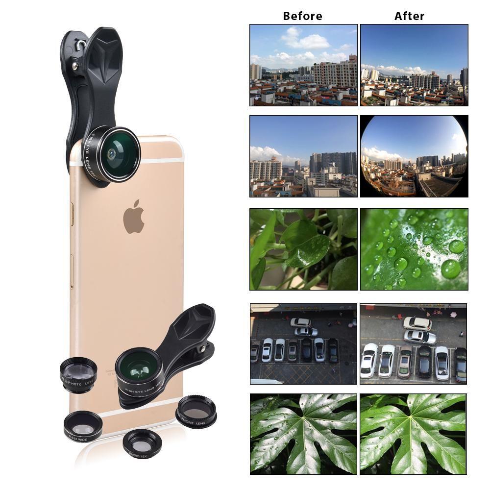 5 In 1 Smartphone Lens Kit
