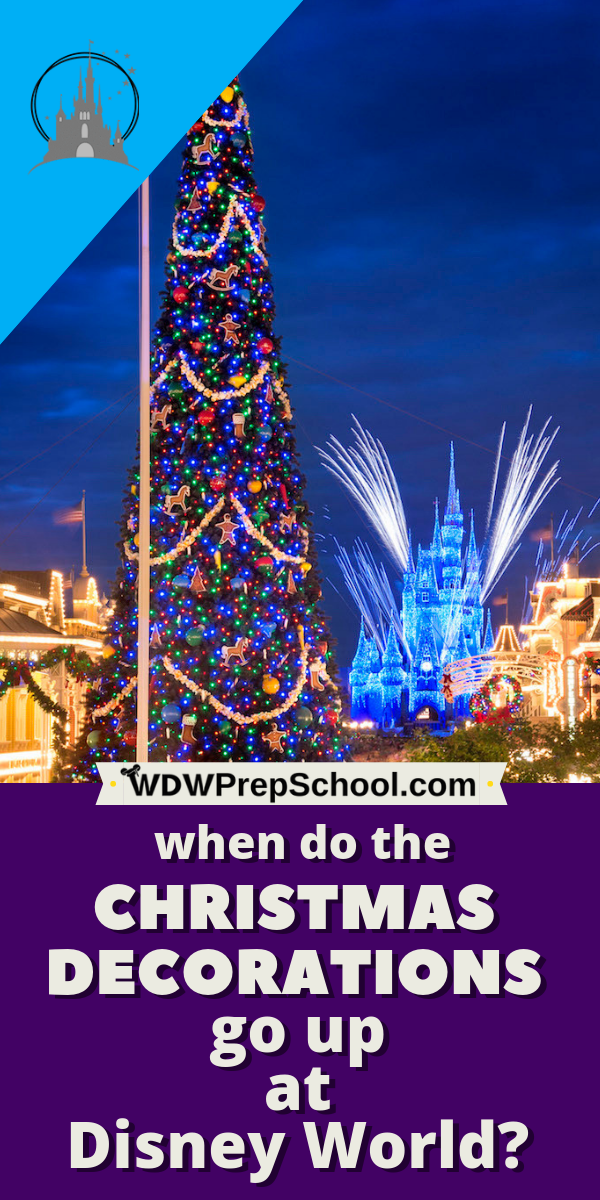 Don T Miss Any Of The Christmas Decorations At Disney World Tips