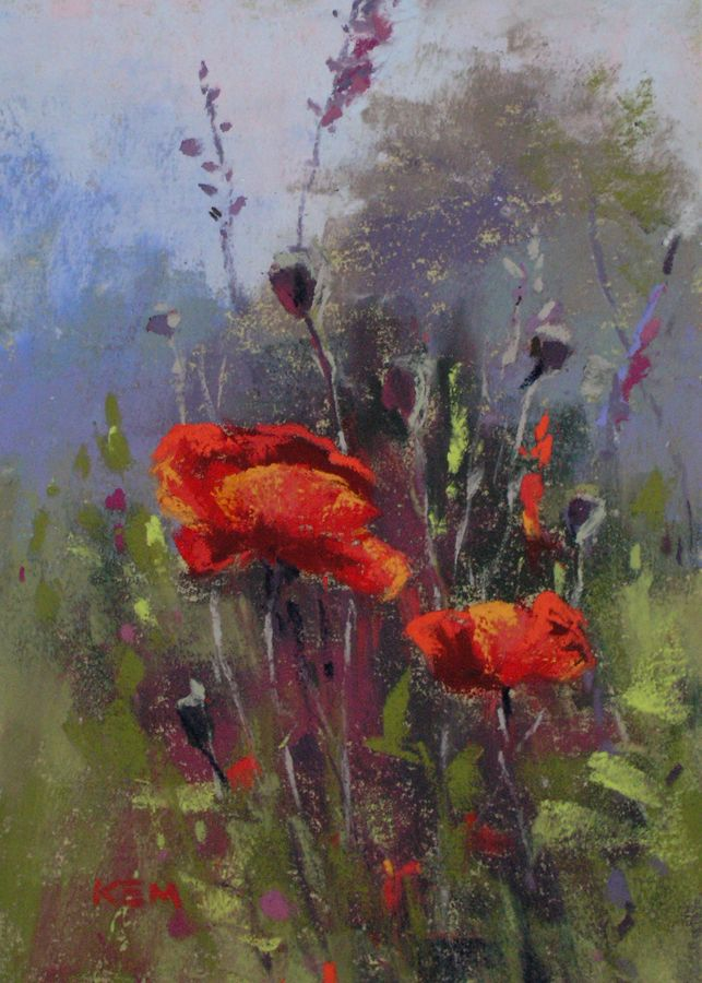 earlymorningpoppies ©Karen Margulis | ART | Pinterest | Mohn ...