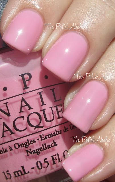 opi - i think in pink (another attempt at a good classic pink?)
