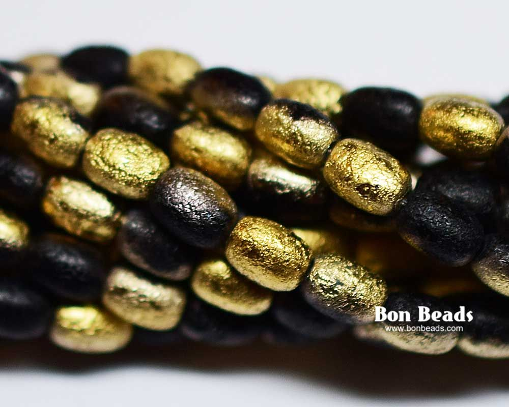 shop round color craft strand plated gold beads hematite beadery hemp
