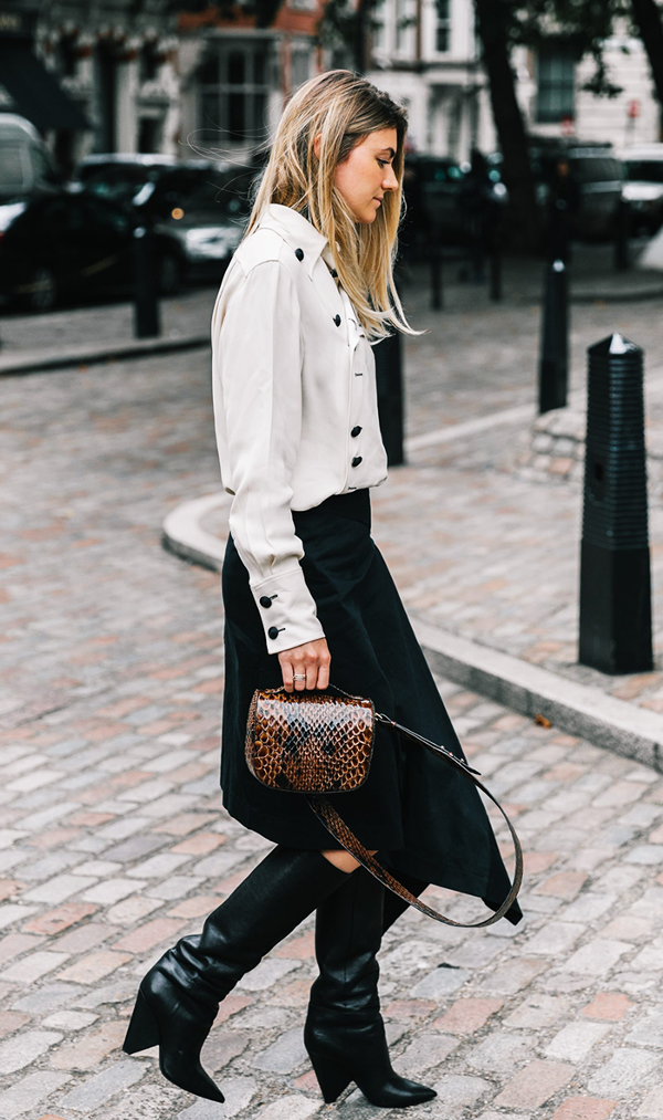 c8d6241647f 12 Outfits That Prove Black and White Are Anything But Boring ...