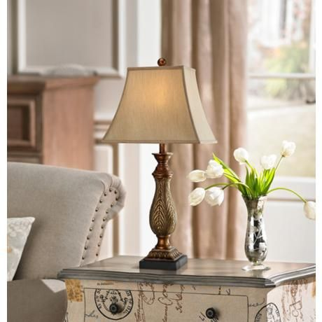 Two Tone Gold Traditional Table Lamps Set Of 2 U5756 Lamps Plus Traditional Table Lamps Lamp Table Lamp