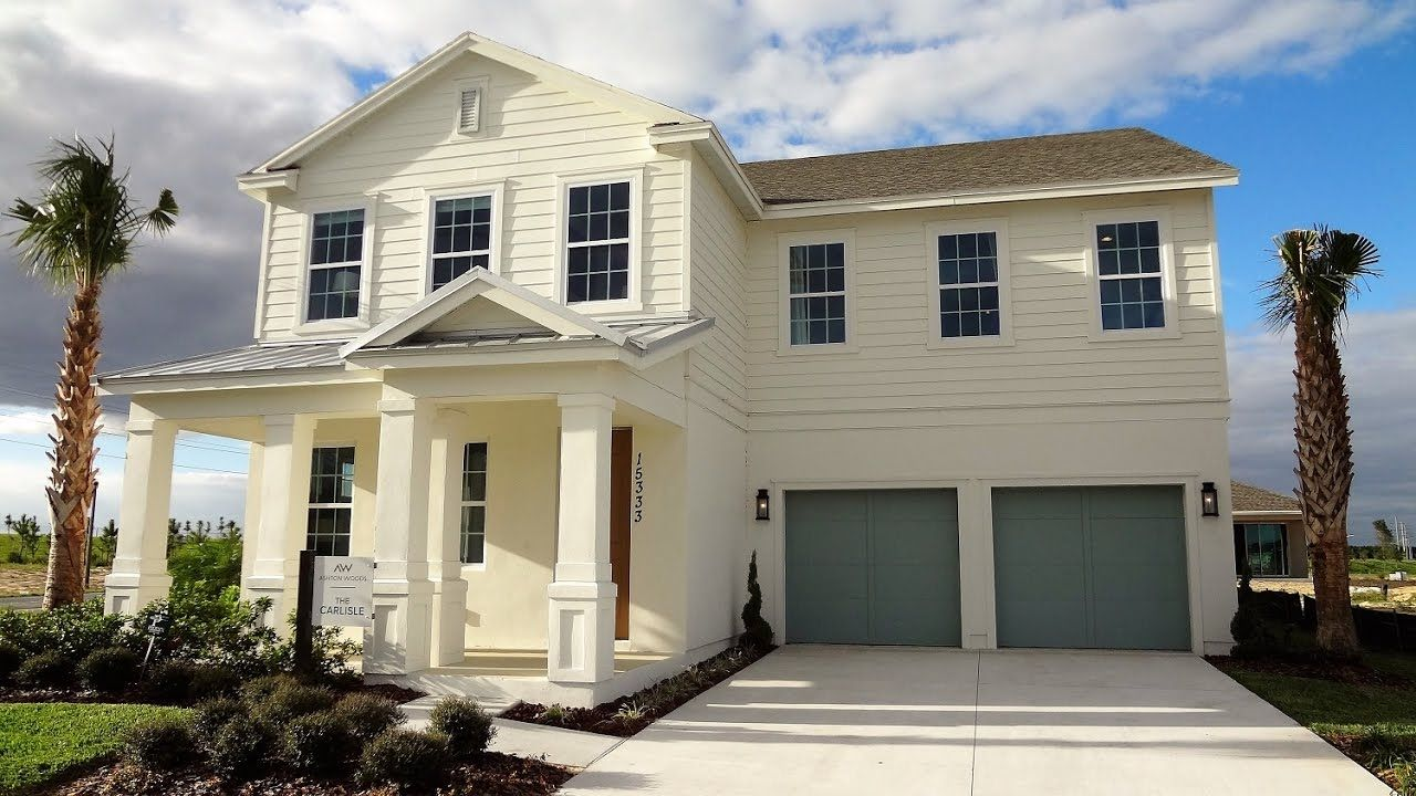 Winter Garden New Homes   Hamlin Reserve By Ashton Woods Homes   Carlisl.