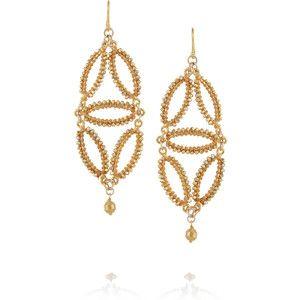 Chan Luu 14 Karat Gold Vermeil Earrings