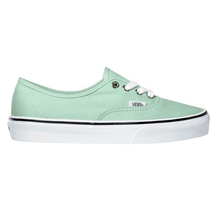 Unisex Authentic Sneakers Gossamer Green True White.