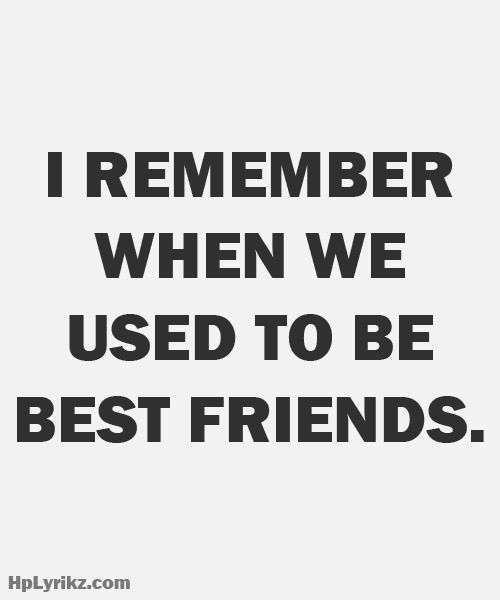 Losing A Best Friend Quote