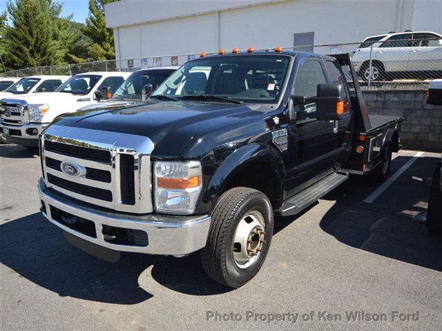 2009 Ford Super Duty F 350 Xlt 4wd Supercab 9 Flatbed 6 8l