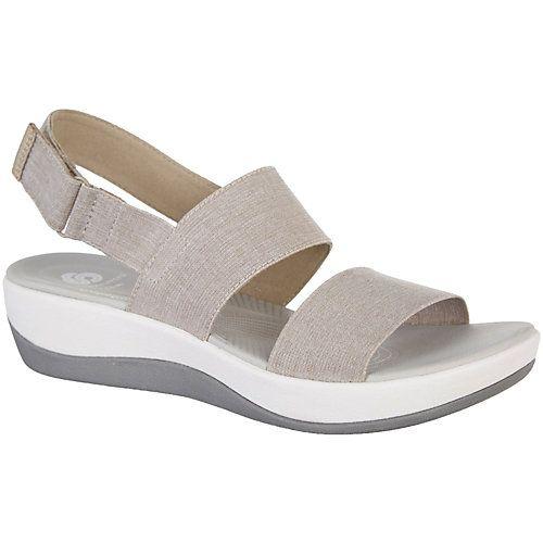 4f9a804d3814eb Clarks Arla Jacory Cloud Stepper sandals feature Soft Cushion footbeds