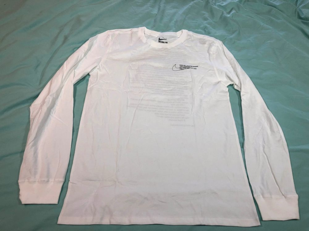 Off White X Nike Virgil Abloh Off Campus The Ten Long Sleeve