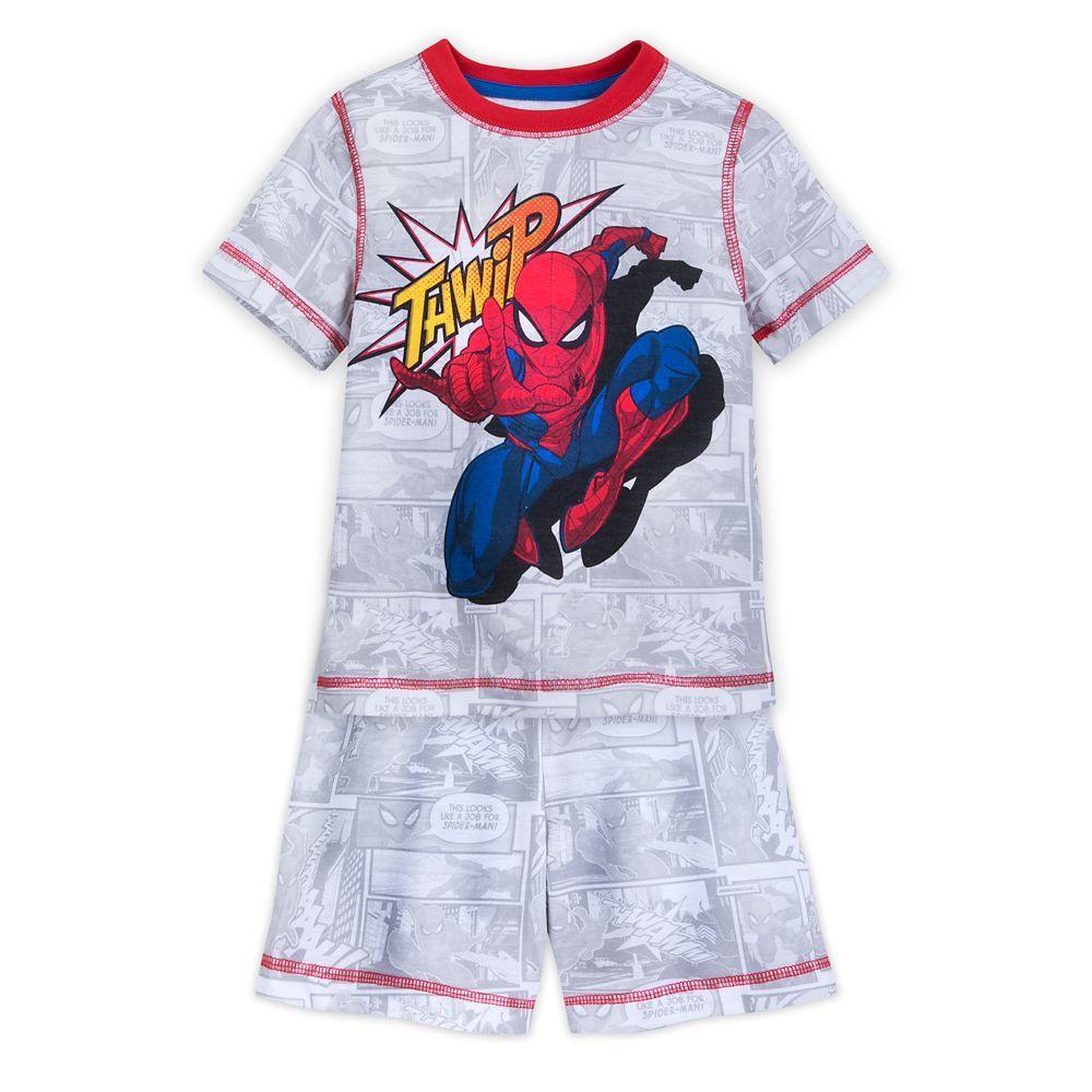 Marvel Boys Spider-Man Two-Piece Thwipp Set