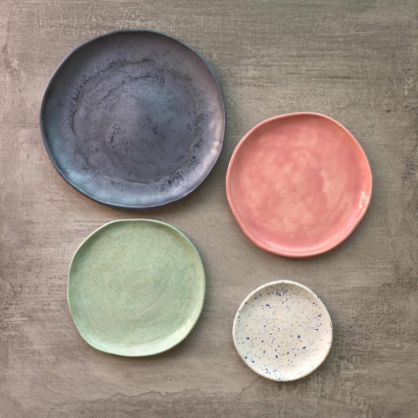 Serving Dish Set Ceramic Dinnerware Set Pottery Plate Set Serving Dishes Ceramic Plates Minimalist Plate Set Rustic Plate Set Ceramic Dinnerware Set Rustic Plates Ceramic Dinnerware