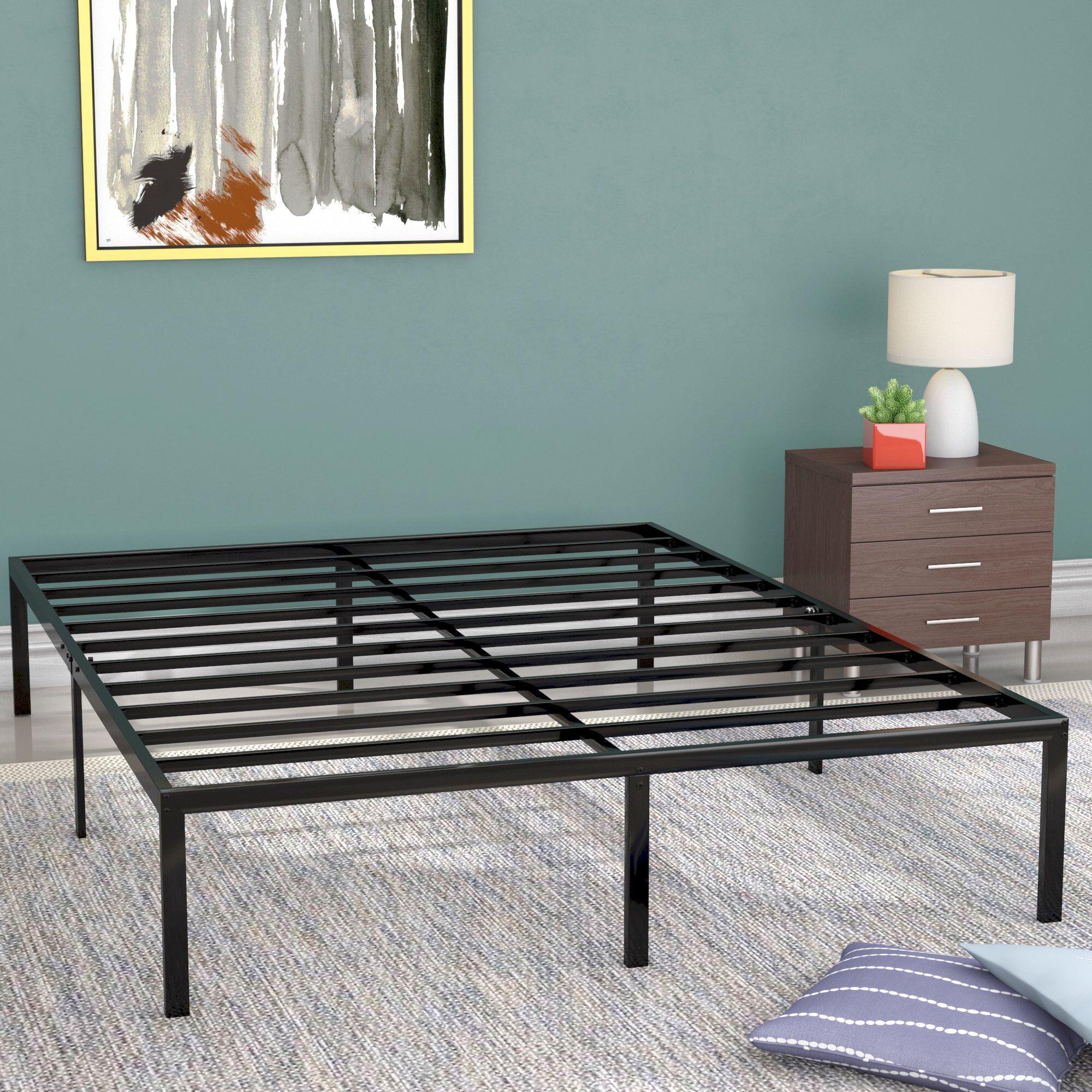 Blough Bed Frame Platform Bed Frame Metal Platform Bed Bed