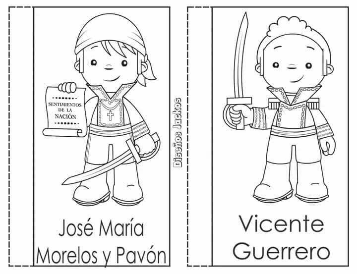 Pin De Elizabeth Chavez En Spanish Personajes De La Independencia Loterias Para Ninos Actividades Escolares