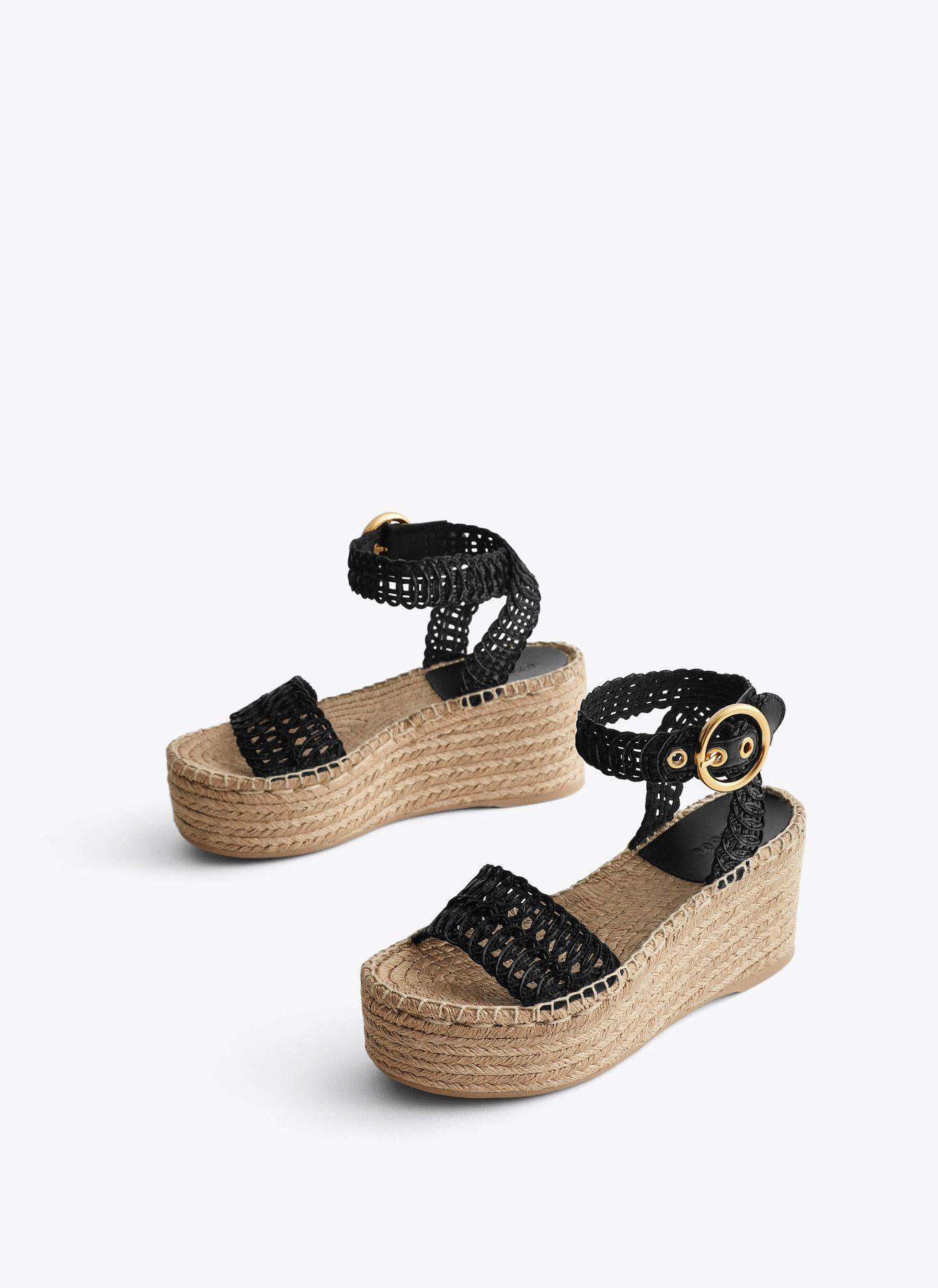 13 sandalias de esparto (con plataforma) para ver la vida