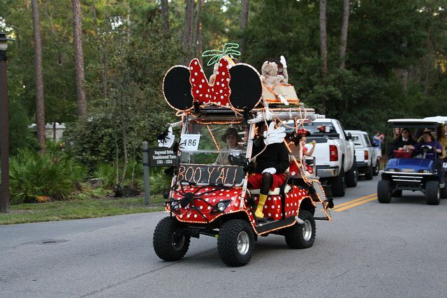 Golf Cart Parade By Curb Crusher Via Flickr Golf Anyone