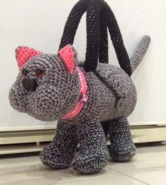 Crocheted Catbag, Pattern for Sale on Ebay
