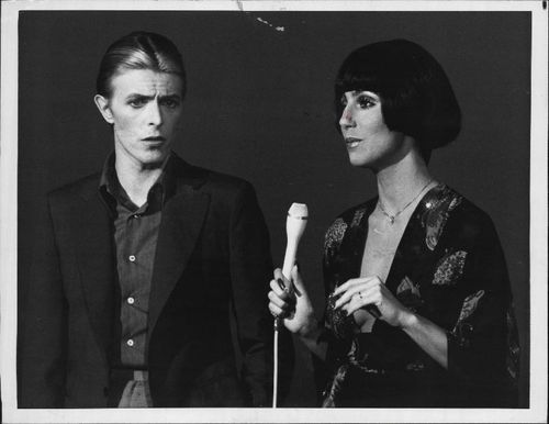 cher and david bowie cher pinterest bowie david bowie and people