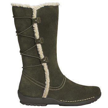 Women Boots Aerosoles Women Dark Tan Suede Shoes Online