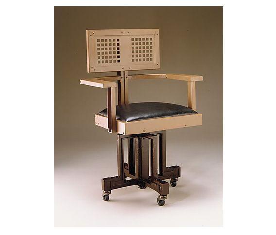 nombre swivel armchair for the larkin company arquitecto frank lloyd wright fecha