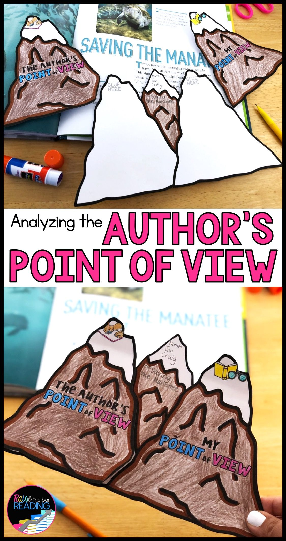 Teaching Students Toyze The Author S Point Of View Is