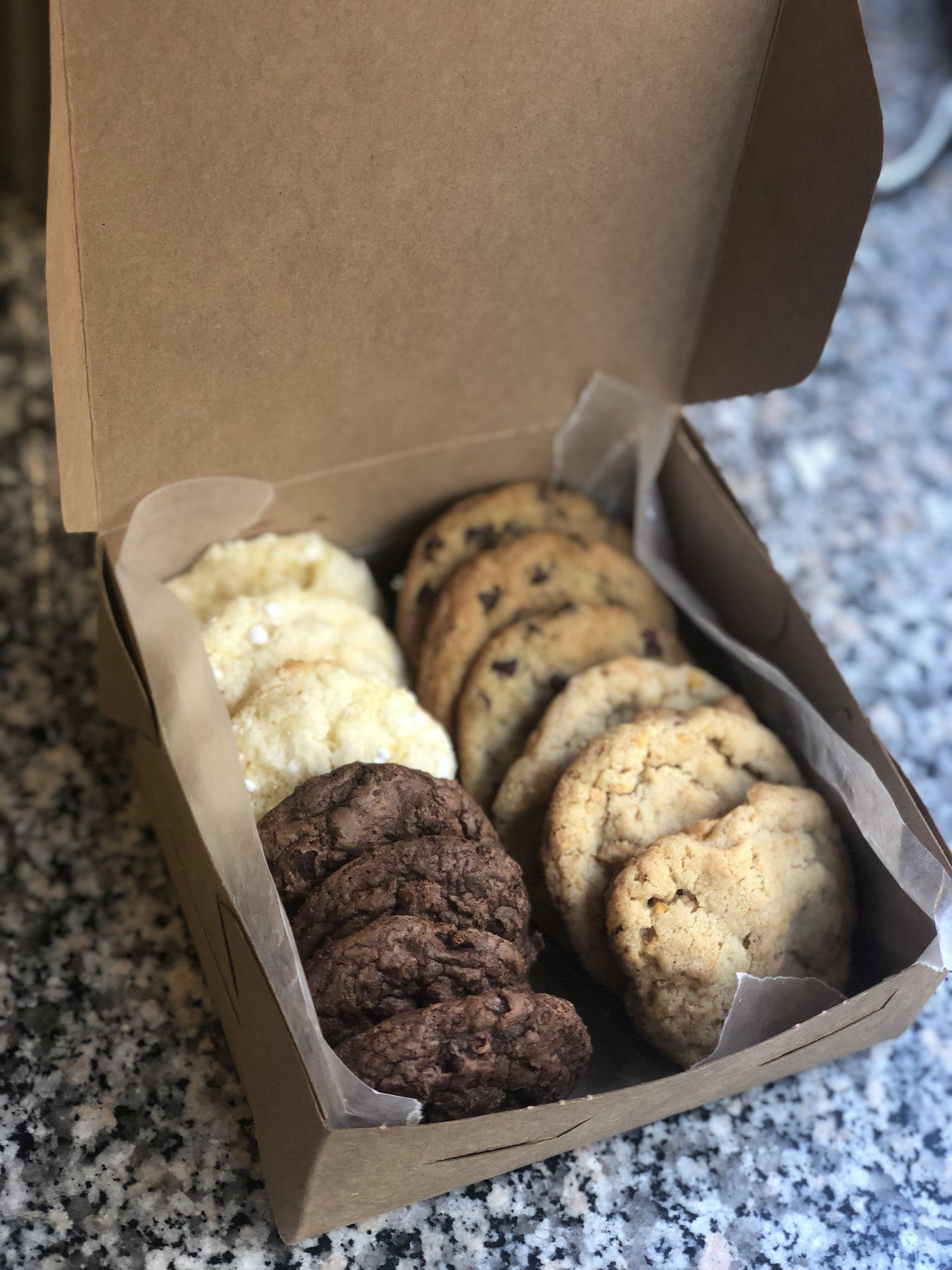 Order a Small Cookie Box — Salt and Sugar Bakery