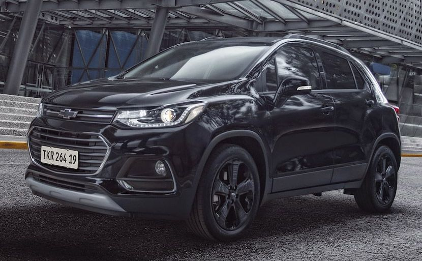 Lanzamiento Chevrolet Tracker Midnight Tracker Llantas Negras