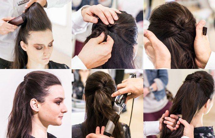 peinado de perret schaad 1 peinados de la berlin fashion week 2013 la propuesta de los. Black Bedroom Furniture Sets. Home Design Ideas