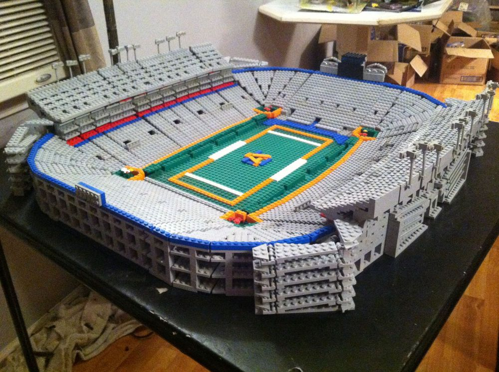 LEGO Auburn Tigers Jordan-Hare Stadium football custom 2013 Iron Bowl  Alabama  LEGO c665a76dd