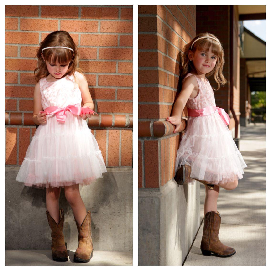 little girls dress boots