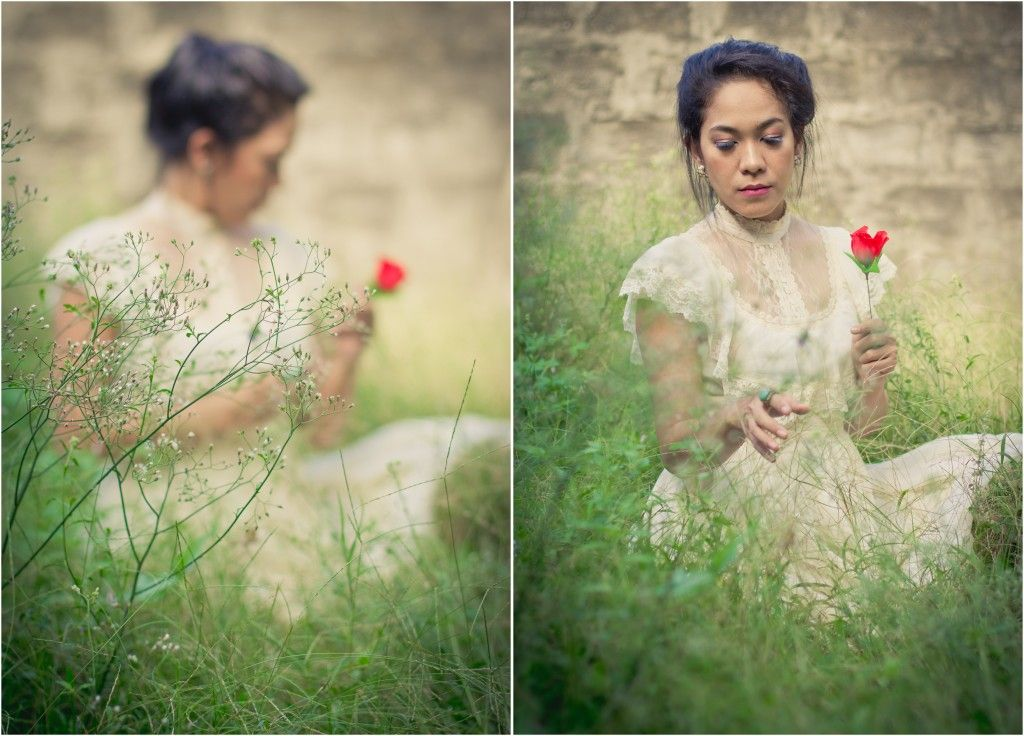A vintage style photo session