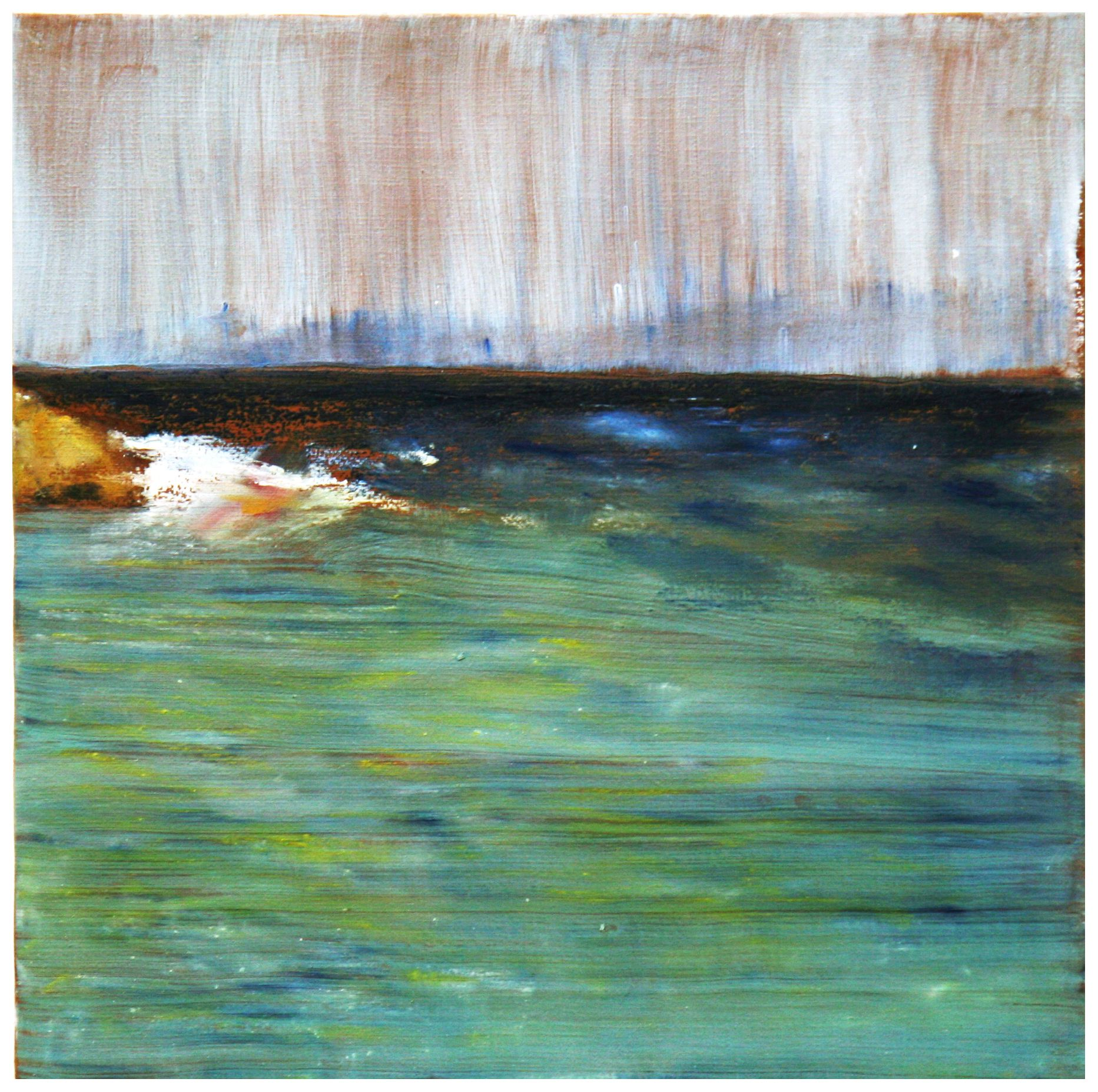 """""""Cammeo n.1"""". Emotional seascape.. painting by Cristina Sammarco"""